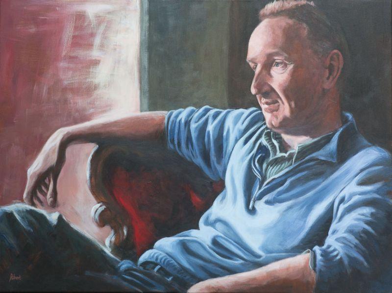 Johan Bordewijk, 2015 - acryl op katoen, 80 x 60