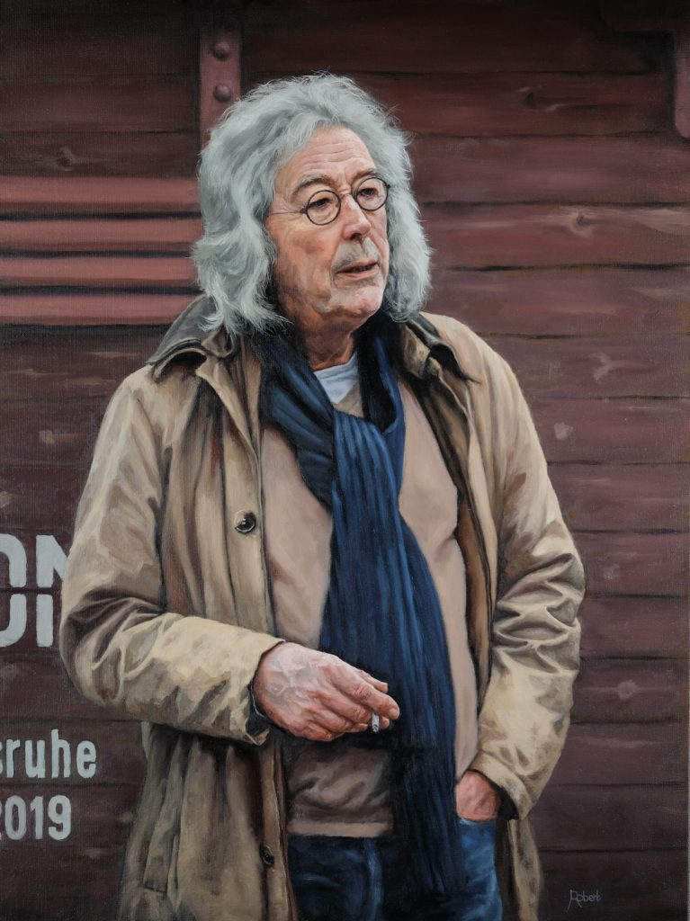 "Dirk Mulder ""Even Rust"" - juni 2019 - Olieverf op linnen, 60 x 80"