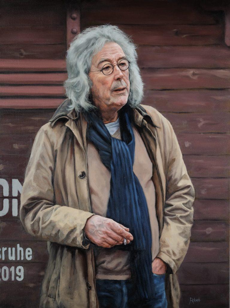 "Dirk Mulder ""Even Rust"" - juni 2019 - Olieverf op linnen, 60 x 80 (verkocht)"