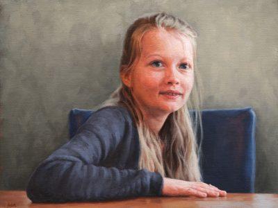 Portret in opdracht - juni 2020 - Olie op linnen, 40 x 50 (verkocht)